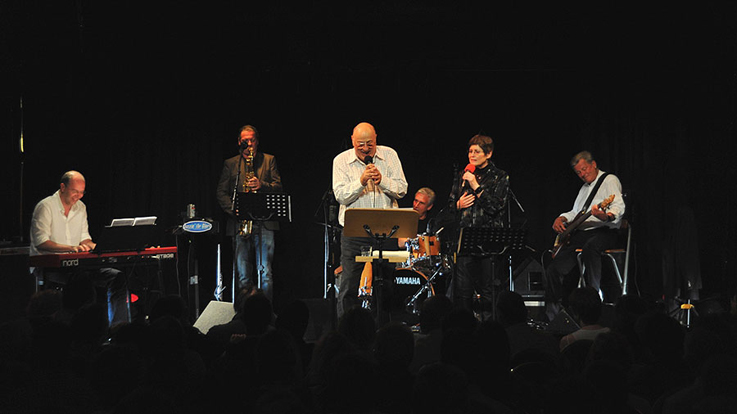 "Manfred Krug und seine Band ""Jazzin' the Blues"""
